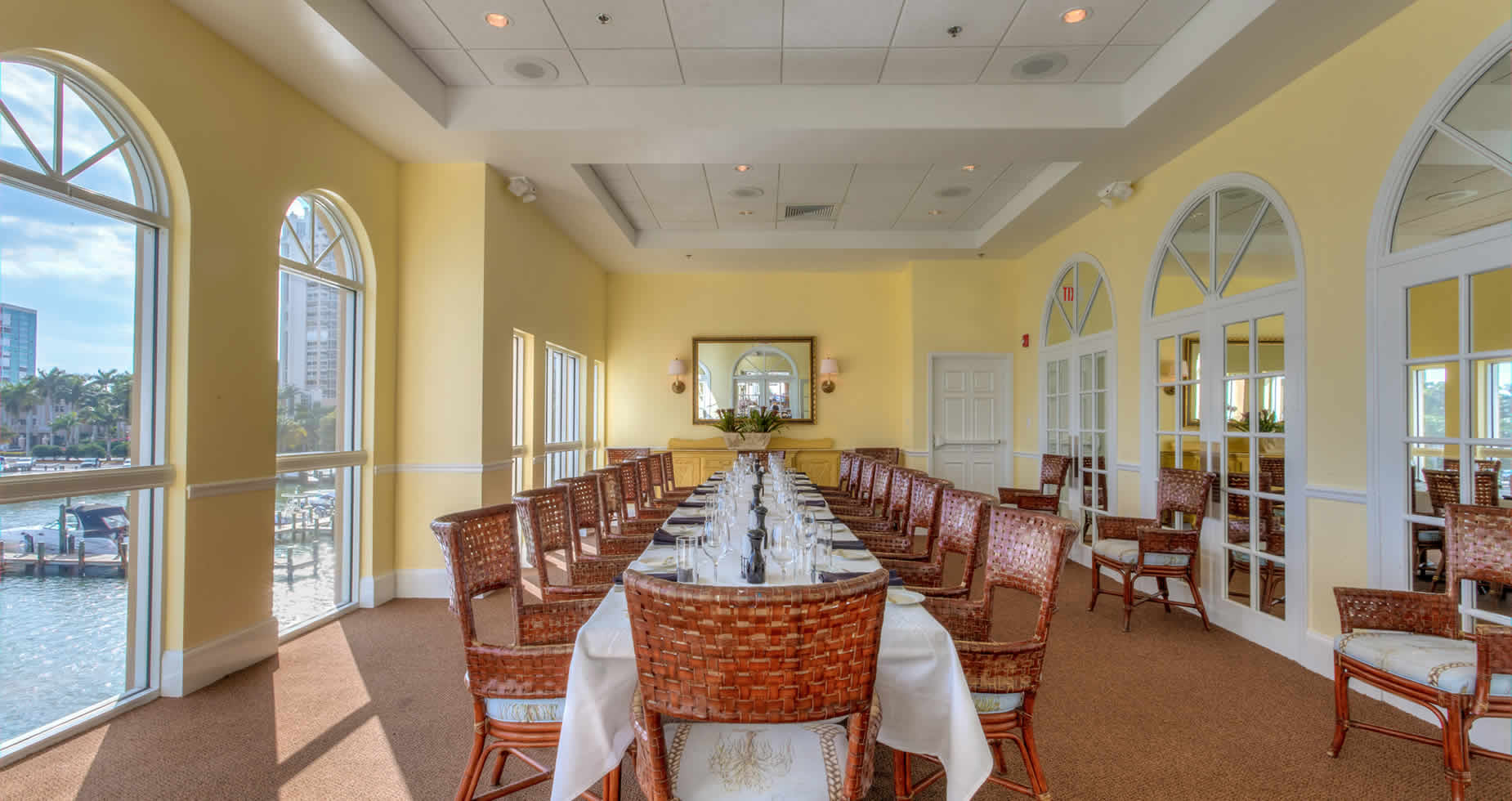 Private Dining in Bayside's Grill