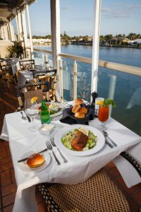 Waterfront Table for Two at Bayside